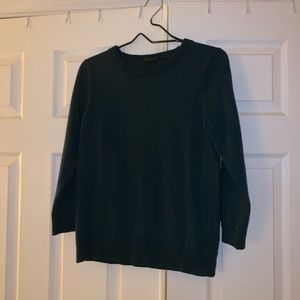 Forest green J. Crew sweater